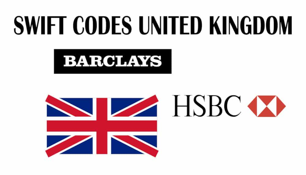 SWIFT Codes - BIC Codes of All Banks in United kingdom